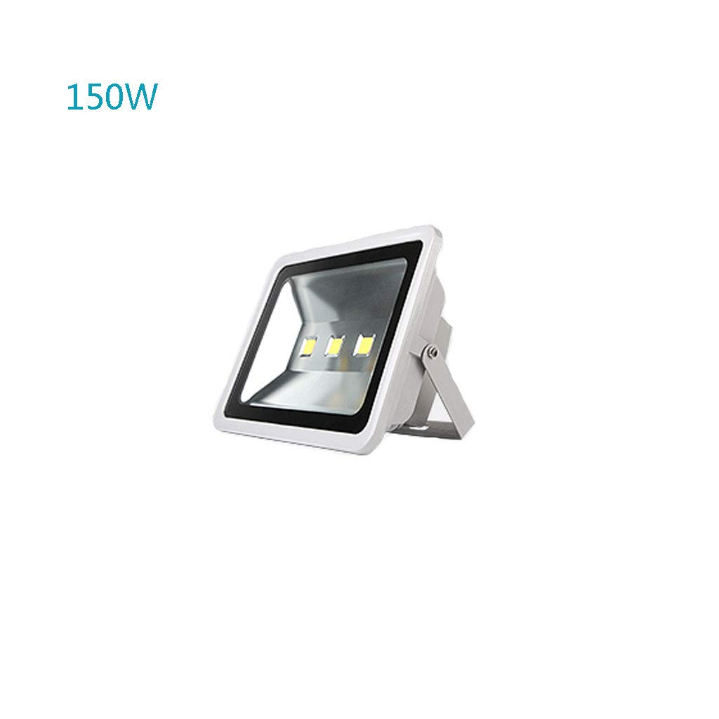 Reflector,Sensor De Luz LED para Exteriores, IP65, Resistente Al Agua Agua Agua Señales Publicitarias, Iluminación, Proyectores, Luz De Calle De Búsqueda (Color : Luz Blanca, Tamaño : 50W) 553868