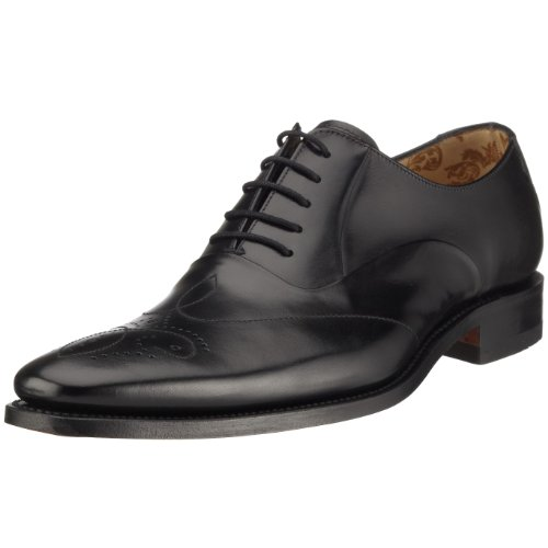 mens-loake-smart-leather-lace-up-shoes-gunny-black-size-11f
