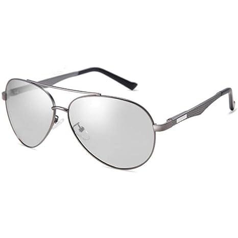 GFLD Hombre Gafas De Sol Decoloración automática ...