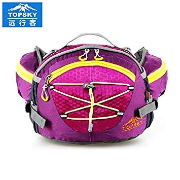 Amazon.com | Zoomy Far: Blue Color: Topsky 8L travelling cycling waist bag pack fanny pack sports bag Waterproof women bag sports bag men mochilas hand ...
