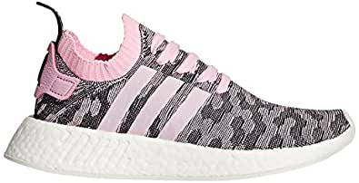 adidas Originals Women's NMD_R2 PK W Running Shoe, Wonder Pink/Black, 6 M US