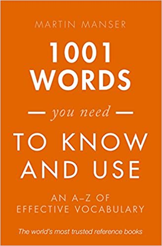 Amazon 1001 words you need to know and use an a z of 1001 words you need to know and use an a z of effective vocabulary reissue edition fandeluxe Images