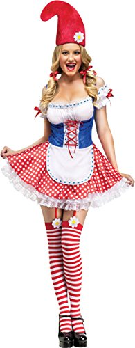 Sexy Gnome Adult Costume Size Standard (2-8) (Gnome Halloween Costume)