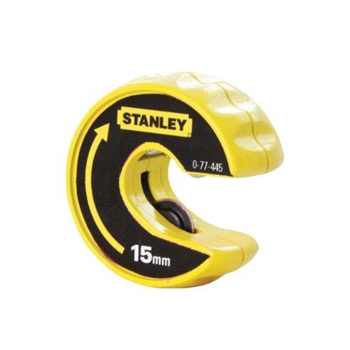 Stanley Automatischer Rohrschneider (15 mm Rohrdurchmesser, schnelle und saubere Querschnitte) 0-70-445 BLAMT