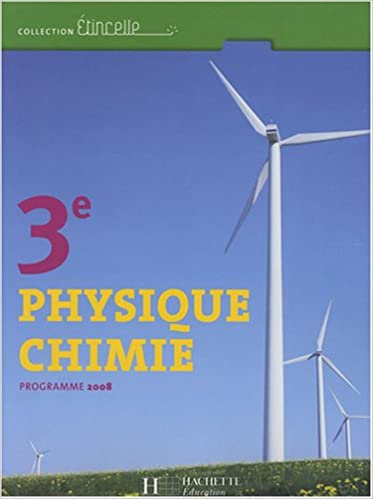 Livres gratuits Physique Chimie 3e : Programme 2008 pdf
