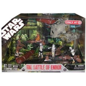 (Star Wars 30th Anniversary Saga 2007 Exclusive Action Figure Mega-Pack The Battle of Endor )