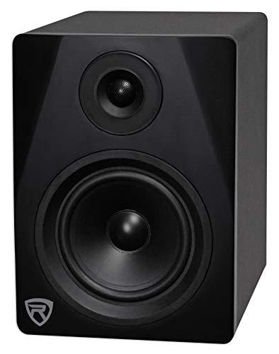 "Rockville DPM5B 5.25"" 2-Way 150W Black Active/Powered Studio Monitor Speaker"