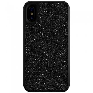 Skech Jewel Designer Fashion Drop Tested Protective Shockproof Case Cover for iPhone Xs/X - Black