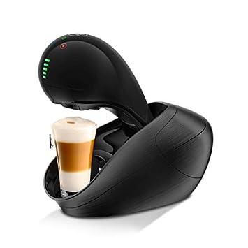 Krups Movenza Independiente Totalmente automática Máquina de café en cápsulas 1L Negro - Cafetera (Independiente
