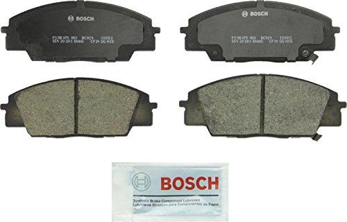 Bosch BC829 QuietCast Premium Ceramic Disc Brake Pad Set For Acura: 2007-2010 CSX, 2002-2006 RSX; Honda: 2006-2011 Civic, 2000-2009 S2000; Front