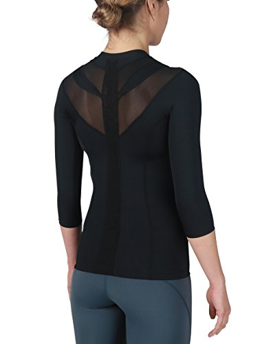 IntelliSkin Womens Foundation Recovery Zip - PostureCue Technology with Smart Compression