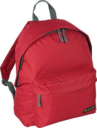 Red Sack School Rucksack Travel Day Bag Small Backpack Highlander Adventure Gym 20L Shoulder Back Pack qUE6vAwf
