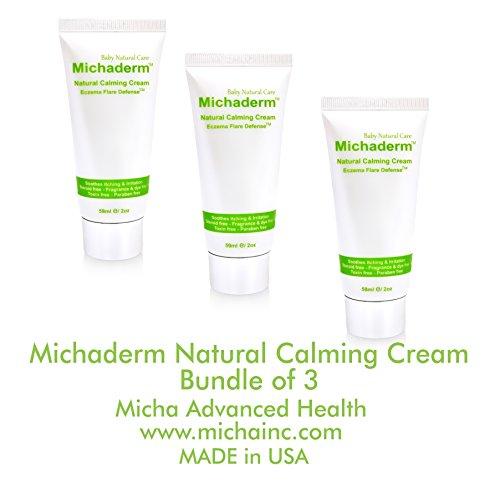Michaderm Eczema Flare Defense Natural Calming Creams - 3