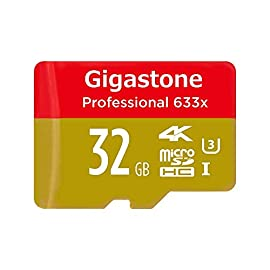 GigaStone 15 Up to 95MB/s transfer read speed Comes with a SD adapter making this Product the perfect universal Micro SD transfer kit Ideal speed and performance for full HD, 4K Ultra-HD recording and for data transfer between any computer and/or Android smart phone, tablet PC and DSLR and drone