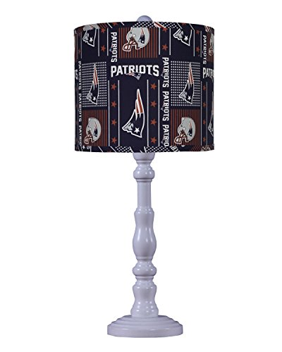 AHS Lighting L2390WH-U15 Townsend Table Lamp-New England Patriots Table Lamp & Shade, 7