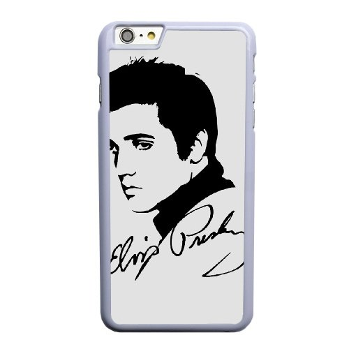 Coque,Coque iphone 6 6S 4.7 pouce Case Coque, Elvis Silhouette Sign Cover For Coque iphone 6 6S 4.7 pouce Cell Phone Case Cover blanc