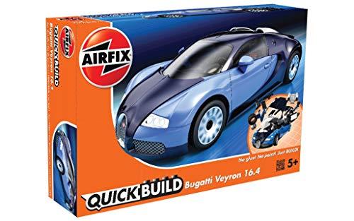 Amazon Com Airfix Quickbuild Bugatti Veyron Supercar Plastic Model