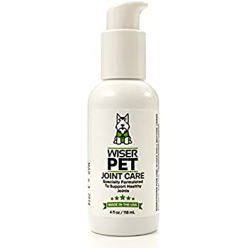 Wiser Pet Joint Supplement for Dogs - Natural Formula Glucosamine Chondroitin and Msm. Dog Hip and Joint Pain Relief, Fast Acting, No Mess, Liquid Treatment