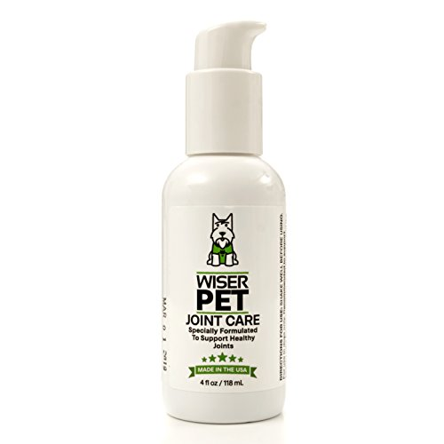 Wiser Pet Joint Supplement for Dogs - Natural Formula Glucosamine Chondroitin and Msm. Dog Hip and Joint Pain Relief, Fast Acting, No Mess, Liquid Treatment by Wiser Pet