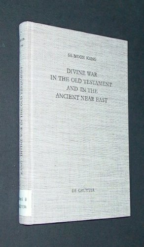 - Divine War in the Old Testament and in the Ancient Near East (Beiheft Zur Zeitschrift Fur Die Alttestamentliche Wissenschaft)