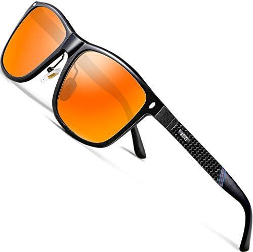 ATTCL Driving Polarized Sunglasses Al Mg