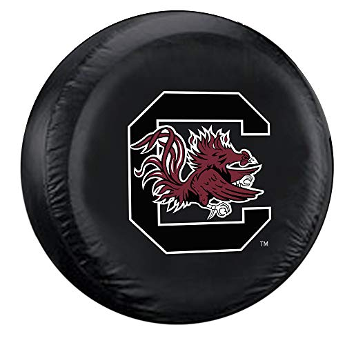 Fremont Die NCAA South Carolina Fighting Tire Cover, Large Size (30-32