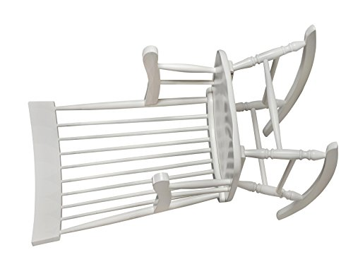 Adult Sized Rocking Chair - Gift Mark Adult Rocking Chair, White