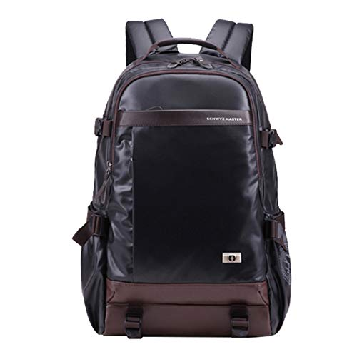 Zaino Per Casual A Black Borsa Impermeabile Laptop Zebuakuade color Viaggio Tracolla Red Grandi Studenti Da Viaggi dfpqHd