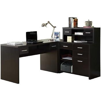 Amazon Com Sauder Harbor View Corner Computer Desk