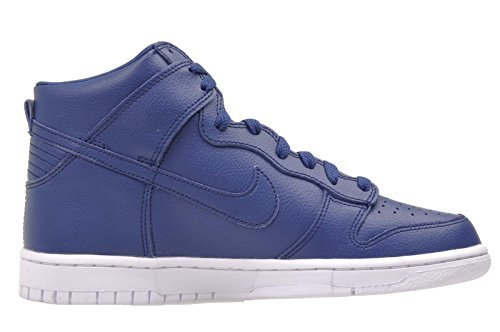 Nike Boys Dunk High (GS) Coastal Blue Sneakers (6) by NIKE (Image #3)
