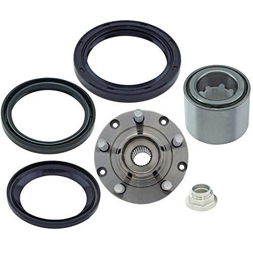 Rear Wheel Bearing and Hub Assembly for 1993-2007 Subaru Impreza 1992-1999 Subaru Legacy 1998-2008 Subaru Forester ABS SPK502 WT513248 WS710529 WS225005 WS710226 (2000 Subaru Forester Rear Wheel Bearing Replacement)