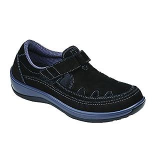 Orthofeet Serene Womens Comfort Orthopedic Wide Arthritis Diabetic T-Strap Shoes