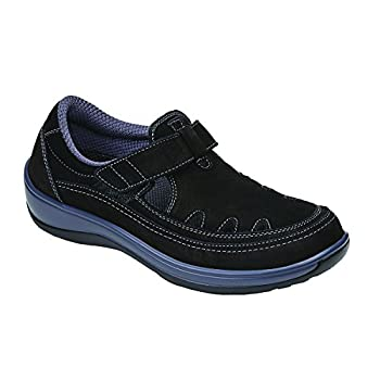 Orthofeet Serene Womens Comfort Orthopedic Wide Arthritis Diabetic T-Strap Shoes