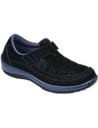 Serene Womens Comfort Orthopedic Wide Arthritis Diabetic T-Strap Shoes