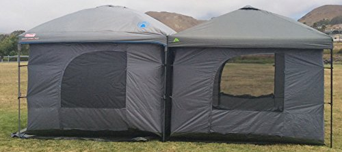 Standing-Room-144-Family-Cabin-C&ing-Tent-XXL- & Standing Room 144 Family Cabin Camping Tent (XXL 12×12) With 8.5 ...