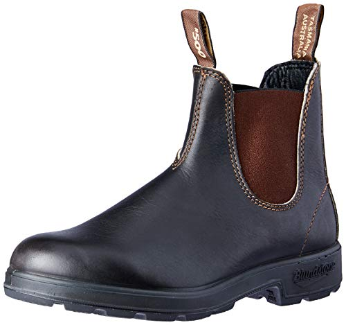 Blundstone 500 - Stout Brown Leather Pull-On Gore Boot - Size: 3