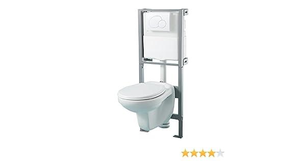 Pack de WC completo suspendido para pared: Amazon.es: Hogar