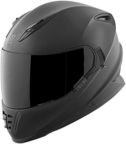 Speed & Strength SS1600 Helmet - Solid (LARGE) (MATTE BLACK)