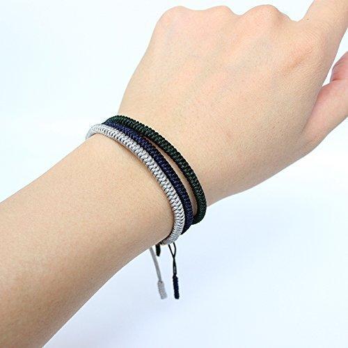 bd6e6efba4 TALE Lucky Rope Bracelet Tibetan Buddhist Handmade Knots - - Import It All