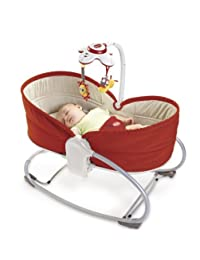 Tiny Love 3 in 1 Rocker Napper, Red by Tiny Love BOBEBE Online Baby Store From New York to Miami and Los Angeles