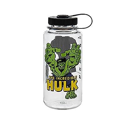 Nalgene Tritan Wide Mouth BPA-Free Water Bottle, 32 Oz, Hulk in action