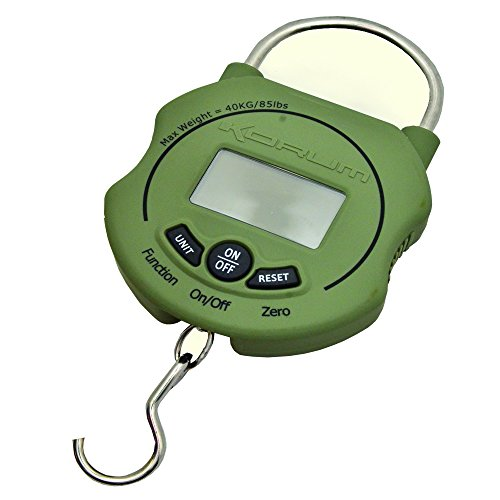 Korum Digital Imperial or Metric Carp Coarse Fishing Weighing Scales 85lb
