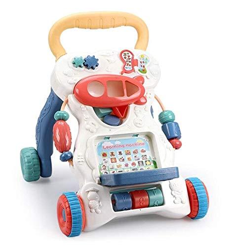 EETYRSD Andador de la carretilla multifuncional juguetes ...