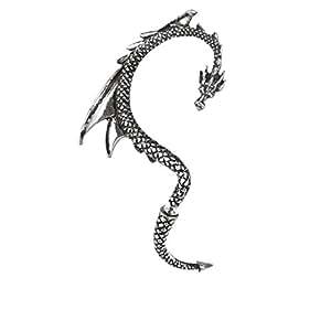 Alchemy Gothic señuelo Pendientes del dragón