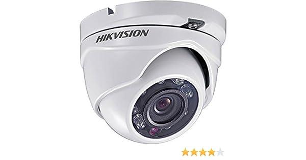 Hikvision - Cámara de vigilancia (3,6 mm, CCTV, visión nocturna), color blanco (importado): Amazon.es: Electrónica