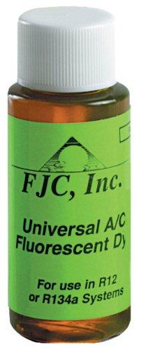 FJC 4910 Universal A/C Fluorescent Leak Detection Dye - 1 oz.