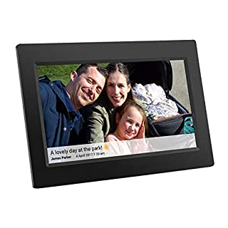 Feelcare Digital WiFi Picture Frame 10 inch, Upload Photos or Videos Remotely from Smartphone to Frame with Free Frameo App, IPS 800x1280,Touchscreen for Easy Navigation