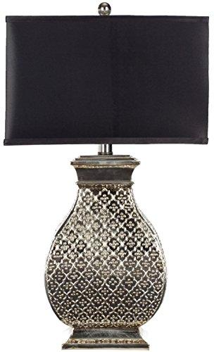 Safavieh Lighting Collection Malaga Silver 29-inch Table Lamp