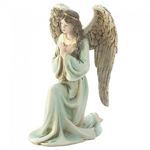 (Summerfield Terrace Graceful Kneeling Angel Figurine)