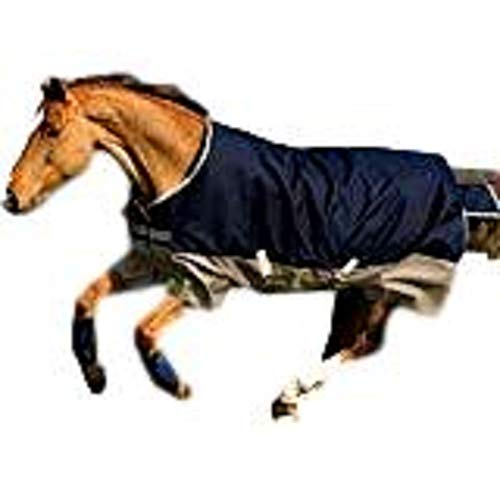 Horseware Amigo Blankets Mio Lite Turnout Sheet 84 Navy/Tan